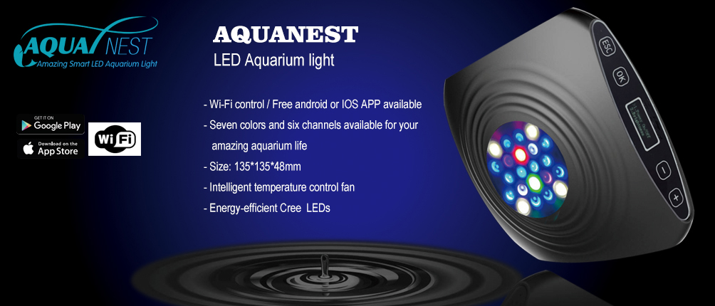 Aquarium Led Light Supplier -AquaNest LED Aquarium Light